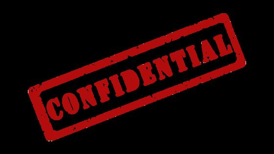 vertrouwelijke correspondentie