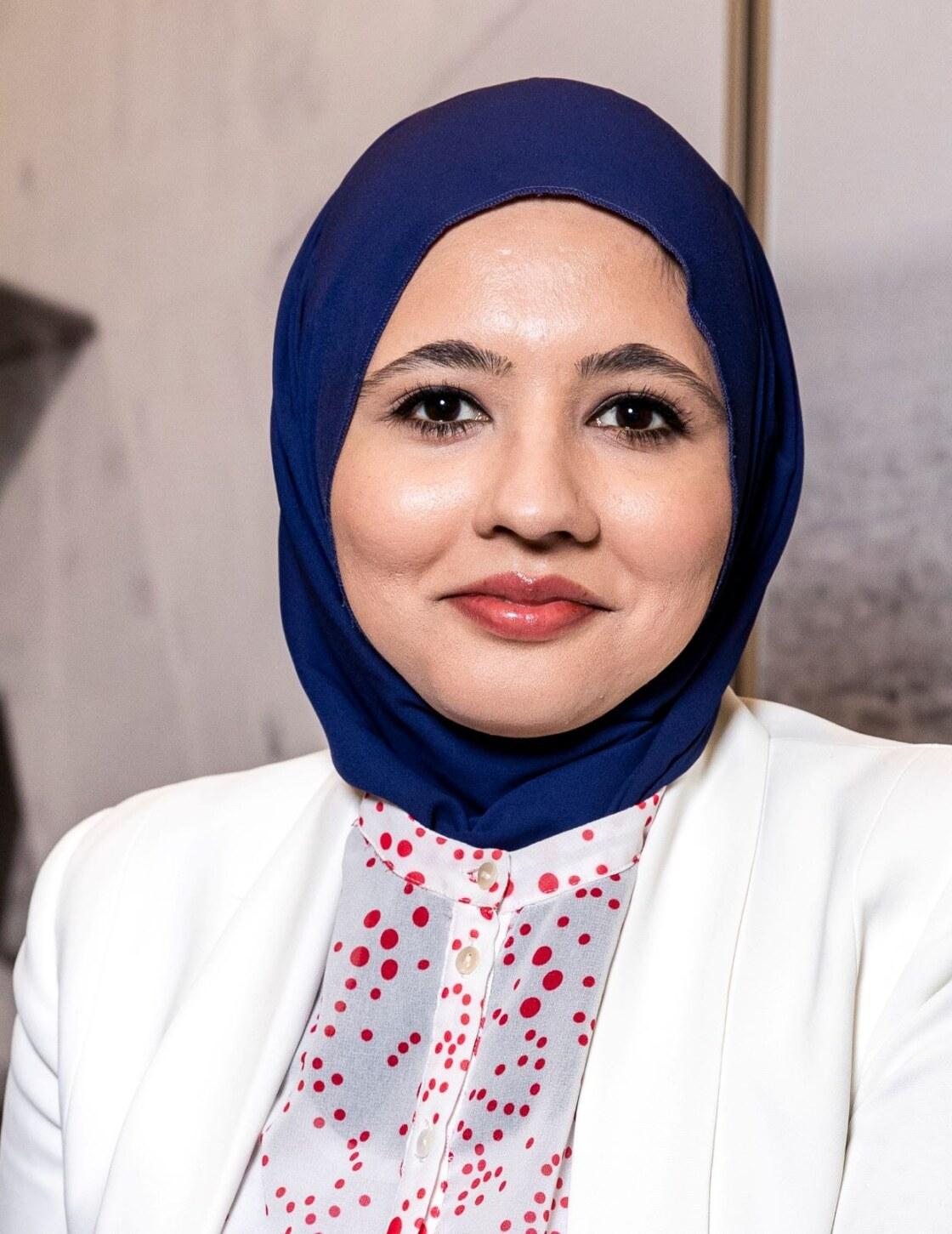 Columnist Najima Khan-klein