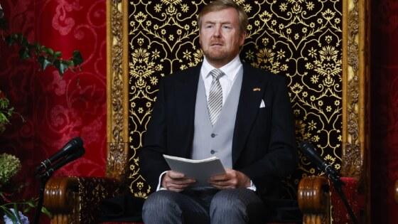 Prinsjesdag: Koning spreekt troonrede uit