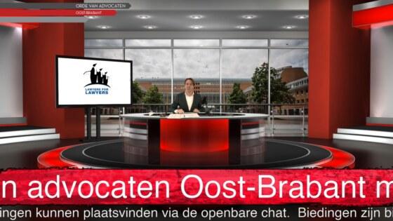 210114 Nieuwjaarsborrel met veiling orde van advocaten Oost-Brabant