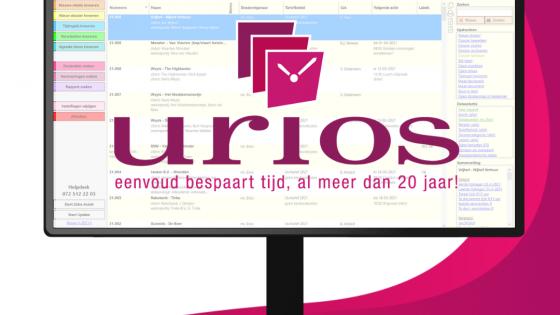 Urios afbeelding voor bij mailing Advertorial
