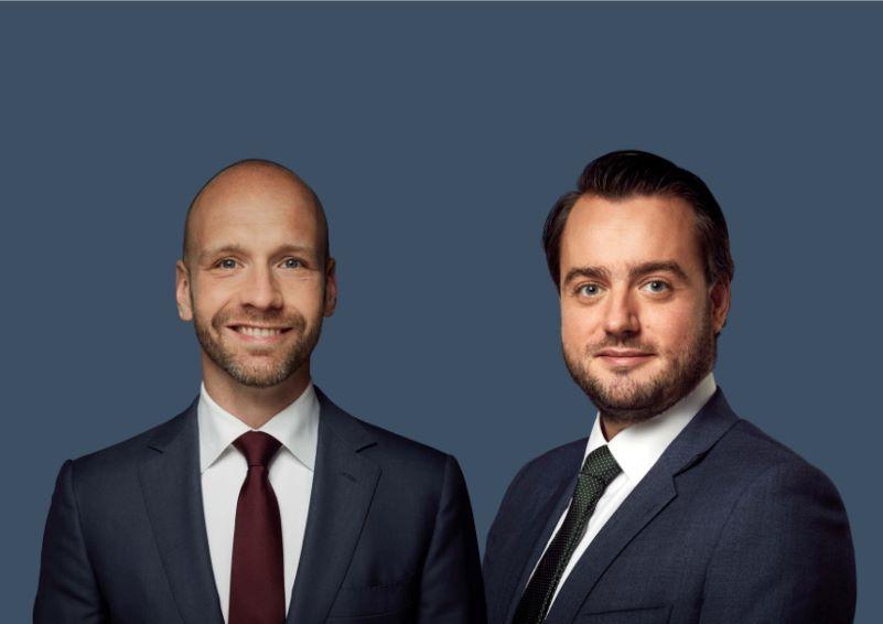 Robert en Maarten klein