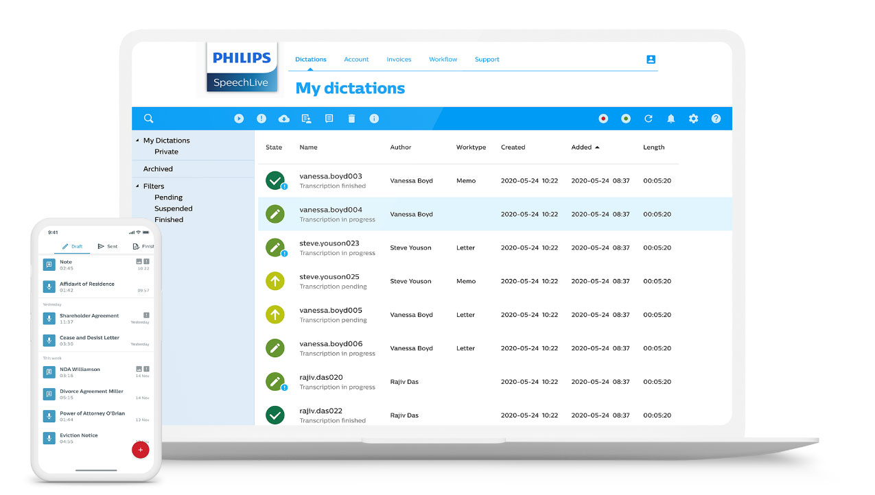 afb_2_philips-speechlive_laptop-with-worklist-and-app